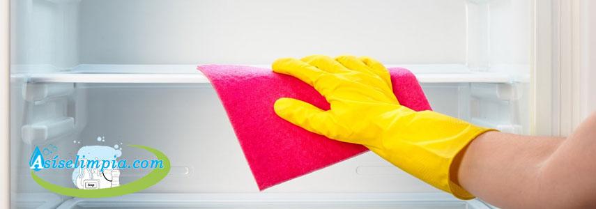 ¿Cómo Debemos Limpiar La Nevera?
