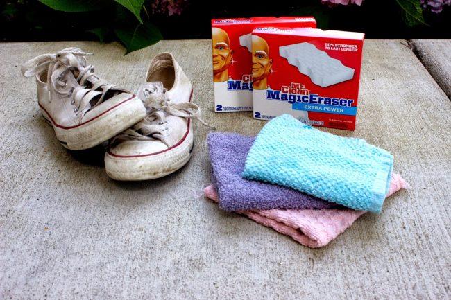 blanquear zapatillas converse