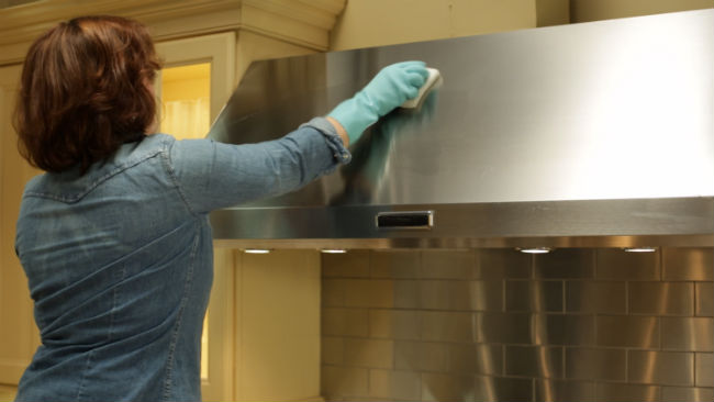 como limpiar la campana extractora