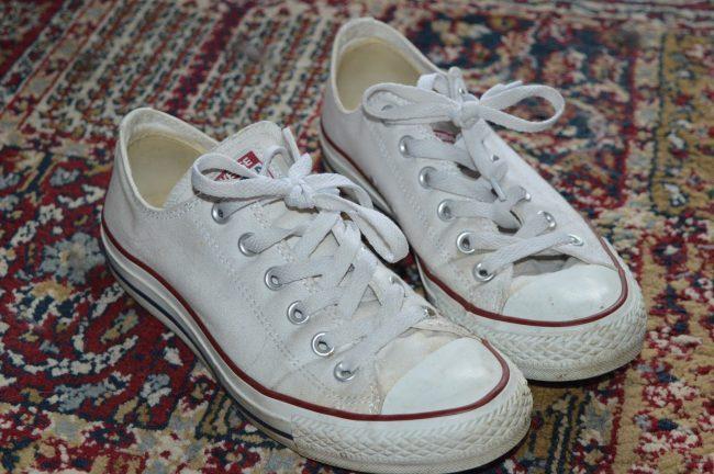zapatillas converse sucias