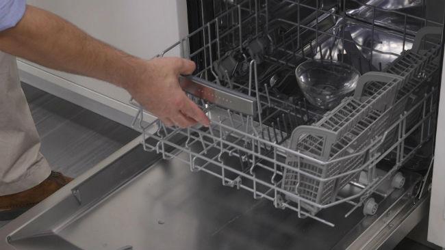 limpieza de filtros y desagües de lavavajillas