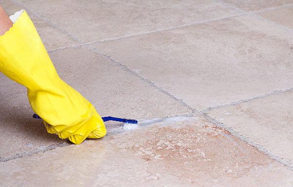 limpiar los azulejos con vinagre