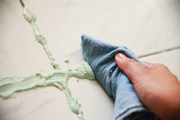 limpiar los azulejos con bicarbonato