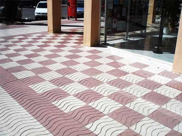 limpiar un suelo de terrazo exterior