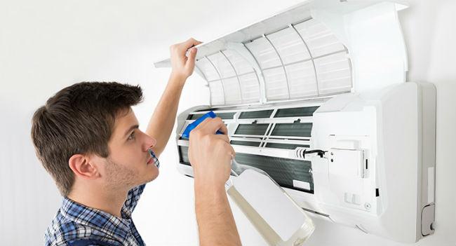 como limpiar el filtro del aire acondicionado