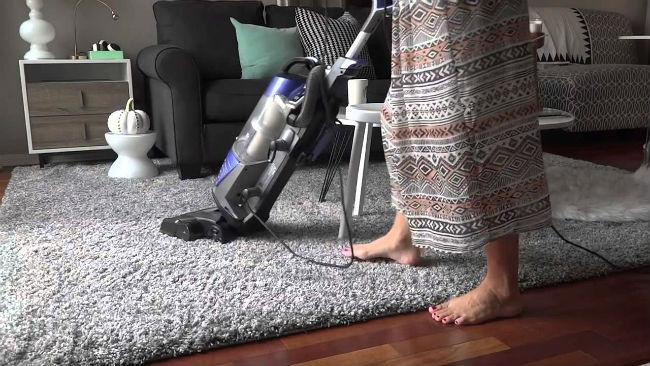 limpiar una aspiradora