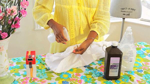 quitar manchas amarillas con agua oxigenada