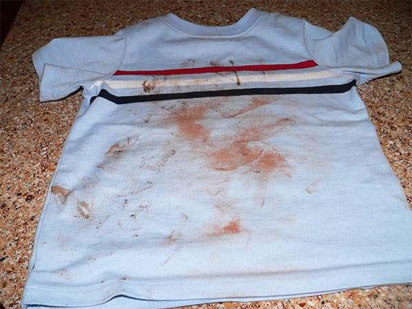 quitar mancha chocolate ropa blanca