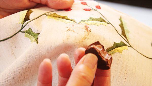 manchas de chocolate