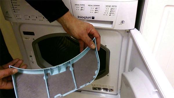 limpiar filtro de la secadora
