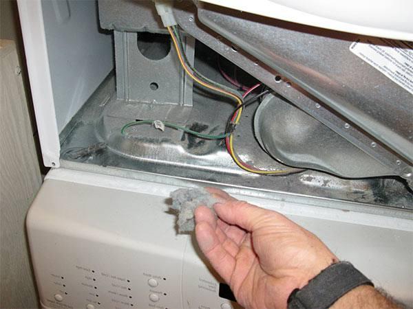 limpiar el interior de la secadora
