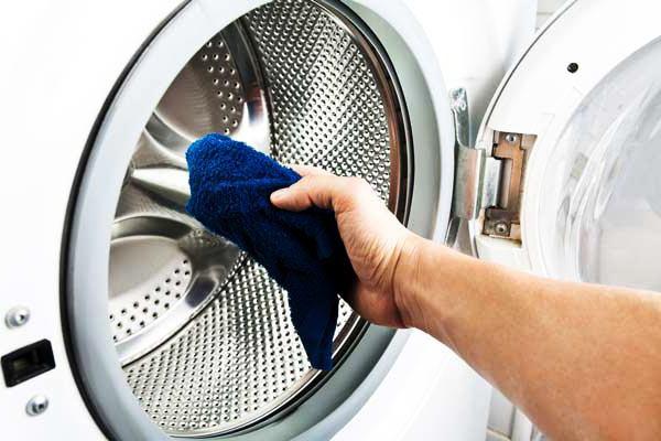 limpiar el tambor de la secadora