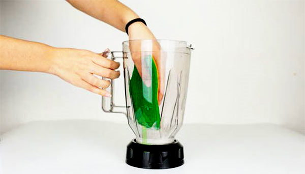 limpiar vaso de batidora