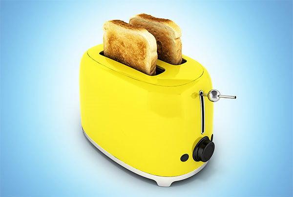 consejos para limpiar la tostadora