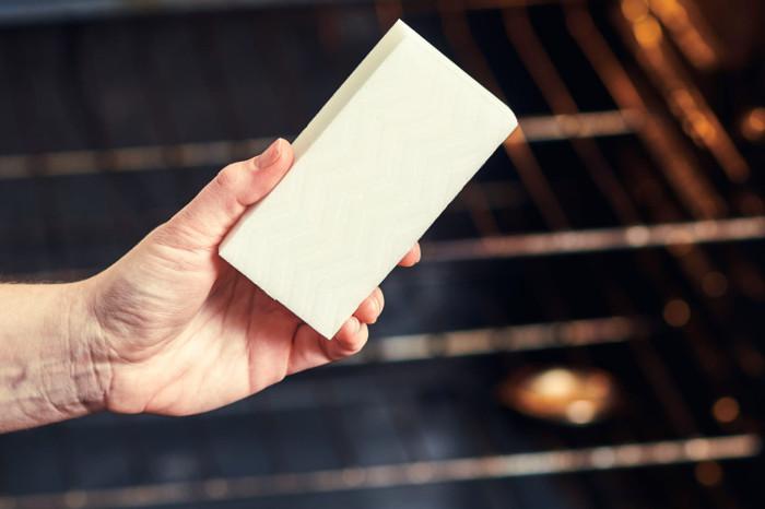 Uso del borrador mágico para electrodomésticos